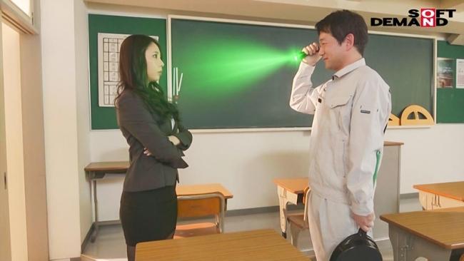 催眠ライト 中年激臭中毒洗脳 性悪女教師 妖ケバ奴隷堕ち