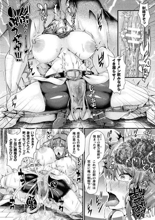粘液脳姦 性奴隷洗脳 美女剣士